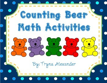 Counting Bears Math Activities