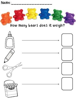 Counting Bears Measurement and Weight