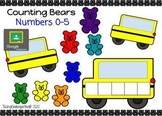 Counting Bears Numbers 0-5
