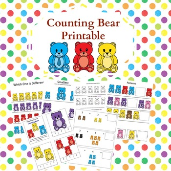 Counting Bears Pack