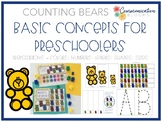 Counting Bears Preschool Basic Concepts