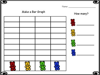 Counting Bears Sort, Count & Graph Activity