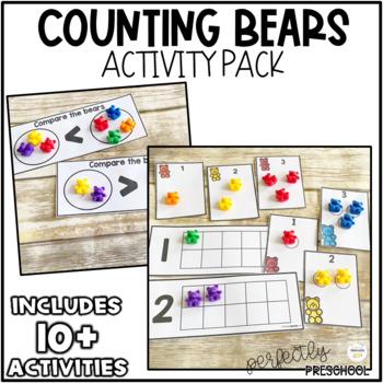 Counting Bears-Sorting Mats {Dollar Deal}