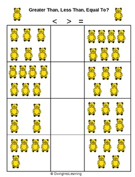 Counting Bears Unit