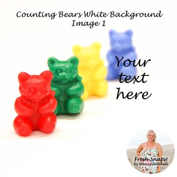 Counting Bears White Background Image 1