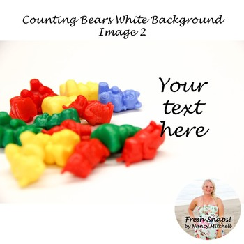 Counting Bears White Background Image 2