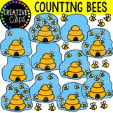 Counting Bees {Counting Clipart}