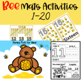 Counting Bees Math Center Activities