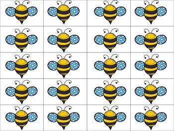 Counting Bees Mats