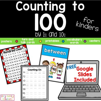 Counting to 100…for Kinders