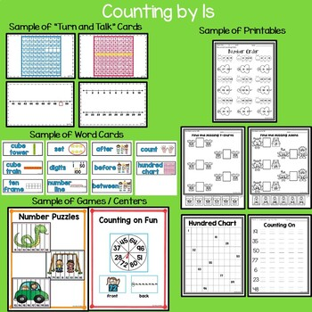 Counting to 100…for kinders, counting by 1s and 10s to 100