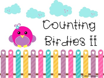 Interactive Counting Birdies II Counting Notebook