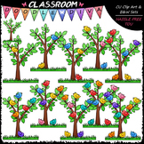 (0-10) Counting Birds Clip Art - Counting & Math Clip Art