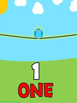 Counting Birds Posters 1-20