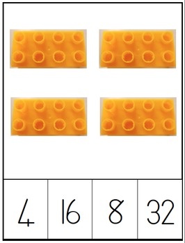Counting Blocks and Dots  (Duplo)