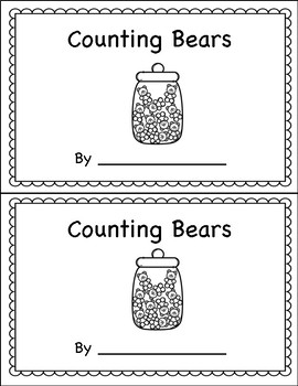 Counting Book 0-10 Bears