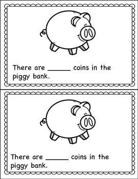 Counting Book 0-10 Coins
