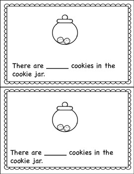 Counting Book 0-10 Cookies