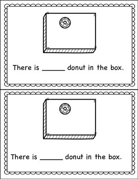 Counting Book 0-10 Donuts