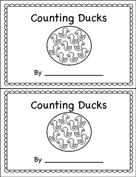 Counting Book 0-10 Ducks