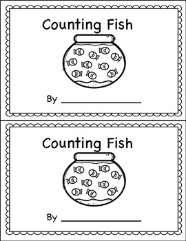Counting Book 0-10 Fish