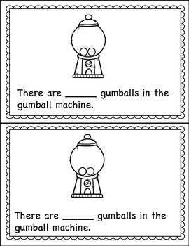 Counting Book 0-10 Gumballs