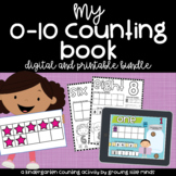 Counting and Numbers Book: Numbers 0-10 [digital and print