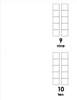 Counting Book: Numbers 0-12