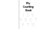 Counting Book - Numbers 1-10