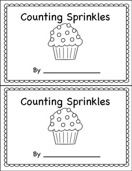 Counting Book Sprinkles