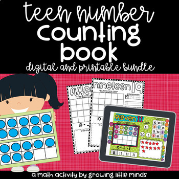 Counting Book:  Teen Numbers