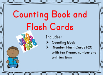 Counting Book and Ten Frame Flash Cards