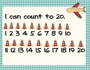 Counting Book, or Mats 0-100