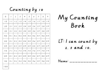 Counting Booklet