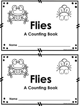 Counting Booklet -Flies
