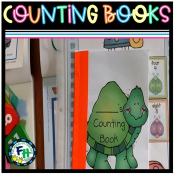 Counting Books (Numbers 1-10)