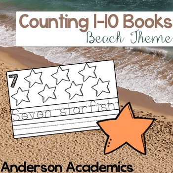 Counting Books: Beach {Counting to 10}