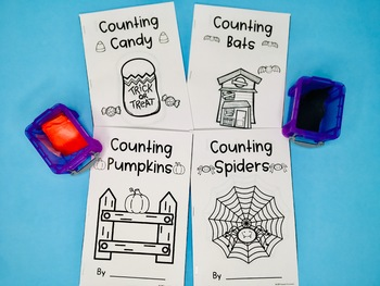 Counting Books - Halloween, 4 Books