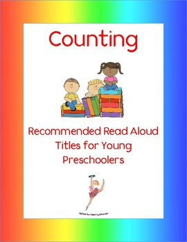 Counting Books: Recommended Read Alouds for Young Preschoolers