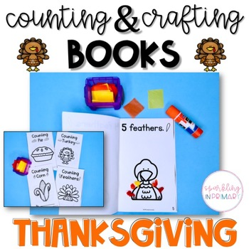 Counting Books - Thanksgiving, 4 Books