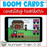 Counting 0-20 Boom Cards - Number Train | Distance Learnin