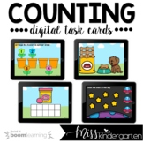 Counting Boom Cards™ for Distance Learning