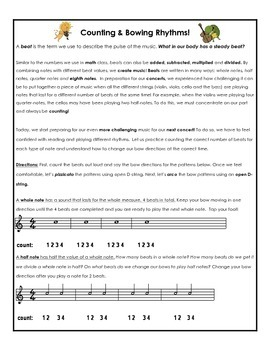 Use the Bow for Half, Quarter and 8th Notes! Bow Distribut