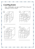 Counting Boxes - Bird's eye view and more - Worksheets