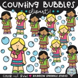 Counting Bubbles Clipart