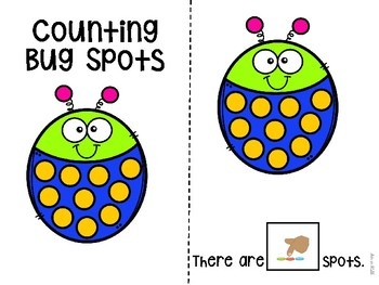 Counting Bug Spots 1-10 Adapted Book