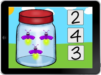 Counting Bugs 1-10 BOOM CARD
