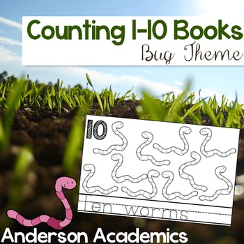 Counting Book: Bugs {Counting to 10}
