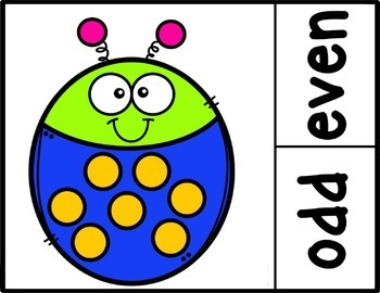 Counting Bugs Clip Cards: Number Recognition and Addition to 20 (set 2)