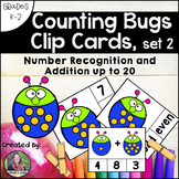 Counting Clip Cards: Number Recognition and Addition to 20